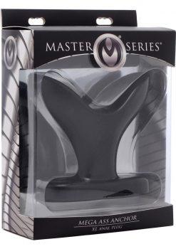 Master Series Mega Ass Anchor XL Anal Plug Black