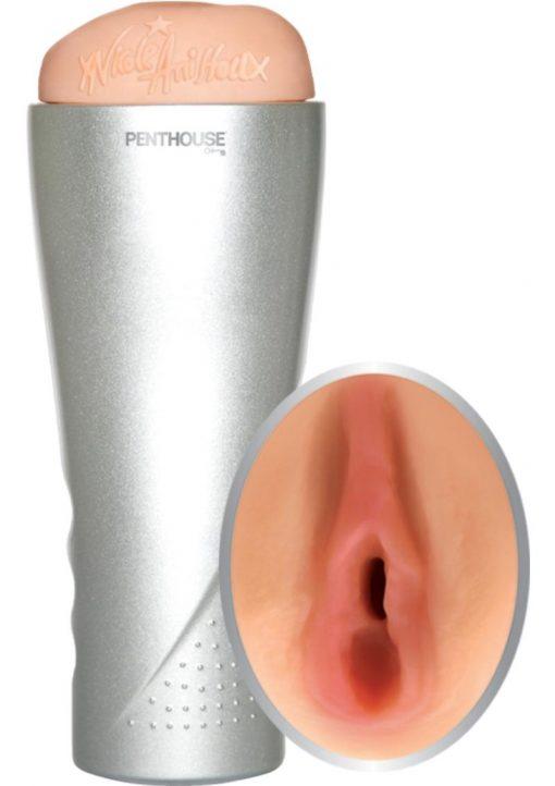 Penthouse Nicole Aniston Deluxe Cyberskin Vibrating Stroker Flesh