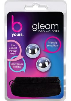 B Yours Gleam Kegel Balls Stainless Steel