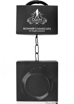 Ouch! Beginner`s Handcuffs Black