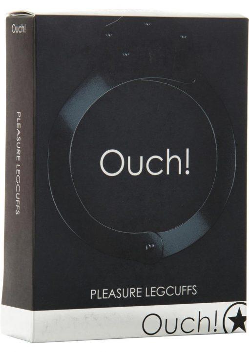 Ouch! Pleasure Legcuffs Black