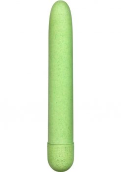 Gaia Eco Biodegradable Vibrator Waterproof Green 7 Inch