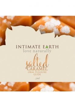 Intimate Earth Oral Pleasure Glide Salted Caramel 3ml