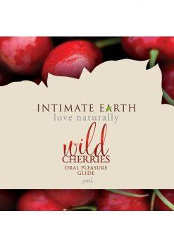 Intimate Earth Oral Pleasure Glide Wild Cherries 3ml