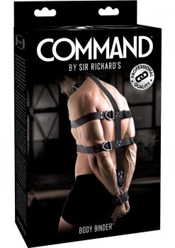 Sir Richard`s Command Body Binder Kit Black And Stainless Steel