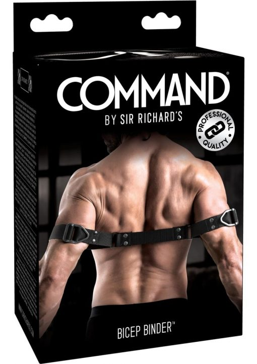 Sir Richard`s Command Bicep Bender Black And Stainless Steel