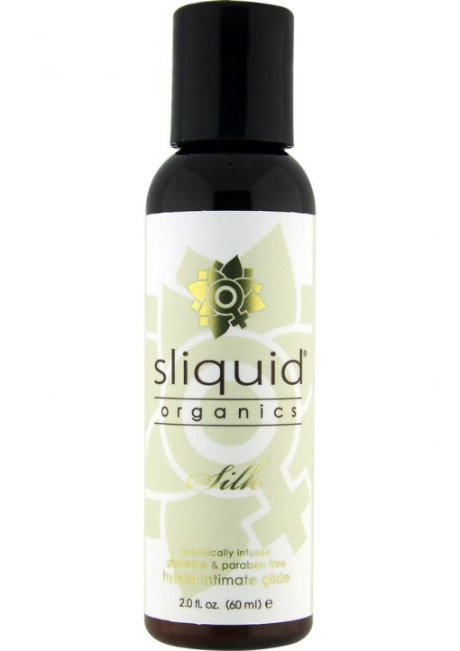 Sliquid Organics Silk Botanically Infused Hybrid Intimate Glide 2 Ounce