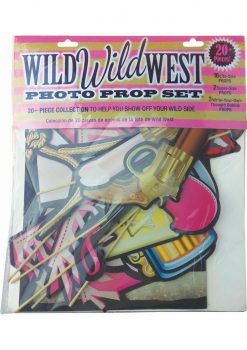 Wild Wild West Photo Prop Set
