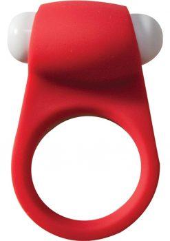 Maxx Gear Pleasure Ring Silicone Waterproof Red