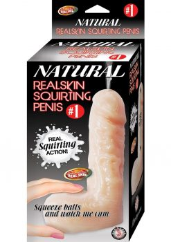 Natural Realskin Squirting Penis 01