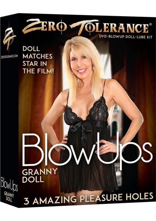 Zero Tolerance Blow Ups Granny Doll With Dvd And Lube Kit