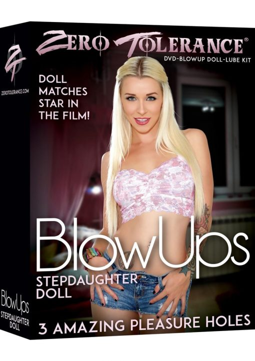 Zero Tolerance Blow Ups Stepdaughter Doll With Dvd And Lube Kit