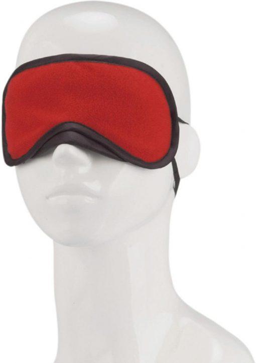 Lux F Peek A Boo Love Mask Red