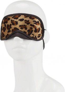 Lux F Peek A Boo Love Mask Leopard