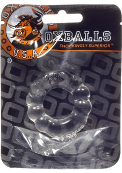Atomic Jock The `6 Pack` Sport (1) Individual Cockring Clear