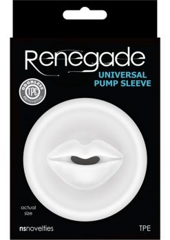 Renegade Universal Pump Sleeve Mouth - Clear