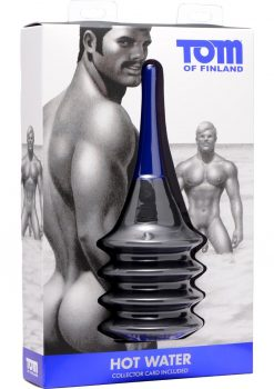 Tom Of Finland Hot Water Accordion Enema Bulb Black