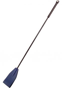 Rouge Leather Riding Crop Blue