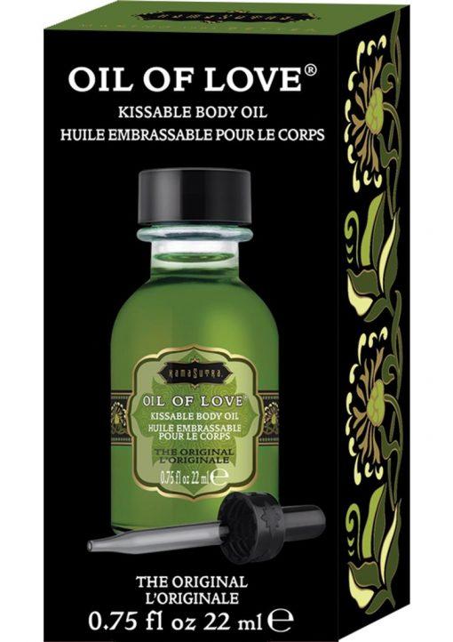 Oil Of Love Kissable Body Oil The Original .75 Ounce