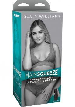 Main Squeeze Blair Williams UltraSkyn Stroker Realistic Pussy Vanilla 7.5 Inches