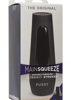 Main Squeeze The Original Ultraskyn Stroker Pussy Masturbator Vanilla 7.5 Inches