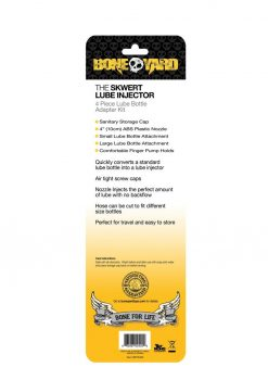 Bone Yard Skwert Lube Injector Adapter 4 Piece Kit