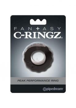 Fantasy C Ringz Peak Performance Ring Black 1.58 Inch Diameter