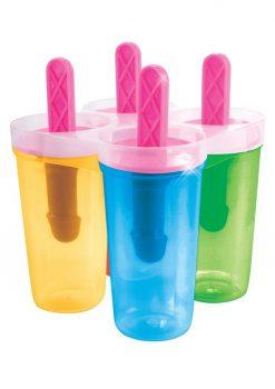 Bachelorette Party Favors Pecker Freezer Pops Pink 4 Each Per Box