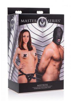 Master Series Mistress Femdom Pegging Kit Black