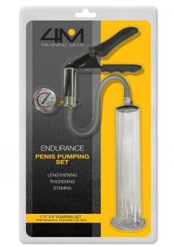 4M Training Gear Endurance Penis Pumping Set  1.75 x 9
