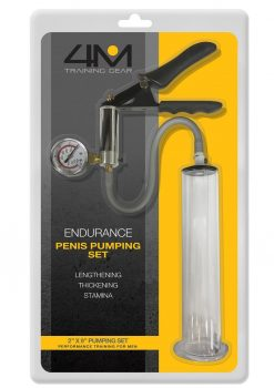 4M Training Gear Endurance Penis Pumping Set 2 x 9