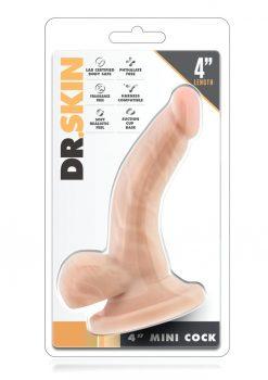 Dr. Skin Mini Realistic Cock Beige 4 Inch