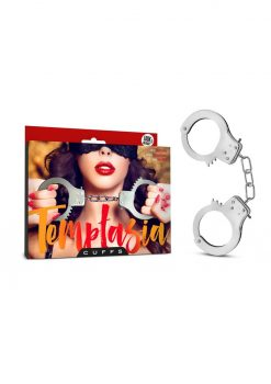 Temptasia Cuffs Adjustable Stainless Steel Hand Cuffs With Keys