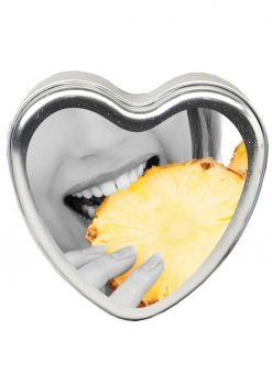 Edible Tropical Vegan Candle Pineapple- 4oz