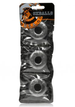 Oxballs Ringer Cockrings Steel 3 Each Per Pack