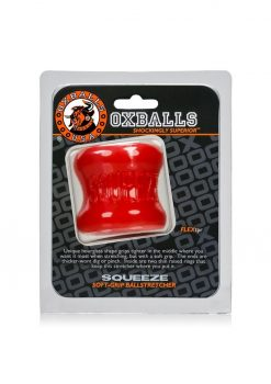 Oxballs Squeeze Soft Grip Ballstretcher Red