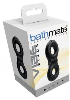 Bathmate Double Vibe Ring Eight Black