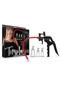 Temptasia Clitoris And Nipple Pleasure Enhancement System Black And Red