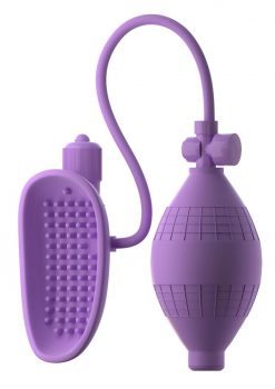 Fantasy For Her Silicone Sensual Pump Her Pussy Pump Purple