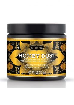Honey Dust Kissable Body Powder Coconut Pineapple 6 Ounce