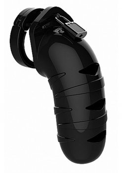 Man Cage By Shots Chastity 05 Black 5.5 Inch
