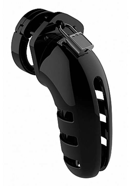 Man Cage By Shots Chastity 06 Black 5.5 Inch