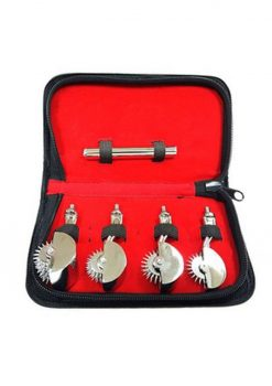 Rouge Stainless Steel 4 Pinwheel Set