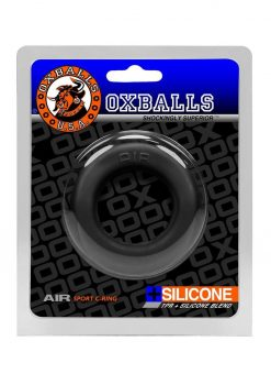Air Silicone Blend Sport Cockring Black Ice