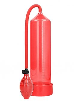 Pumped By Shots Classic Penis Pump Red