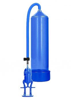 Pumped By Shots Deluxe Beginner Pump Blue