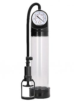 Pumped By Shots Comfort Pump With Advanced PSI Gauge Clear