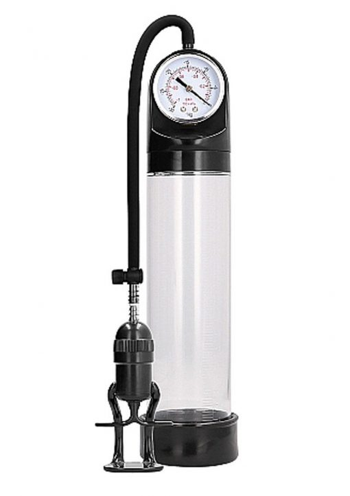 Pumped By Shots Deluxe Pump With Advanced PSI Gauge Clear