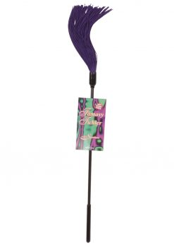 Sex And Mischief Rubber Tickler Purple