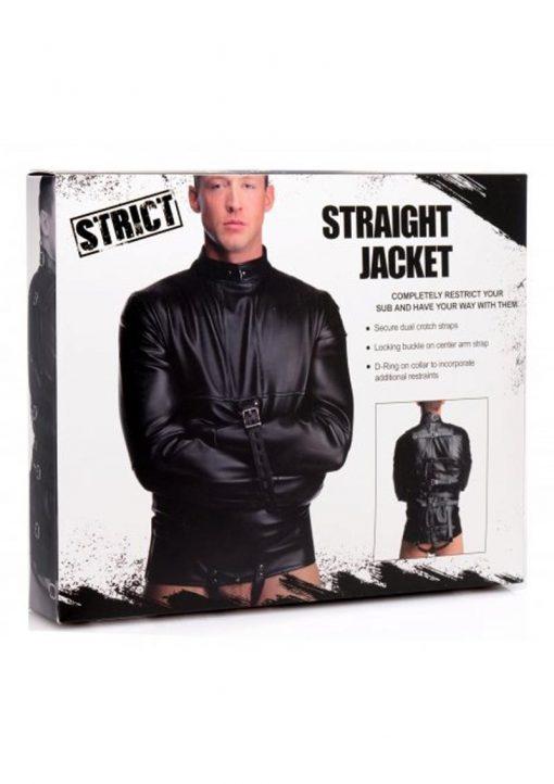 Strict Straight Jacket Medium Bondage and Fetish